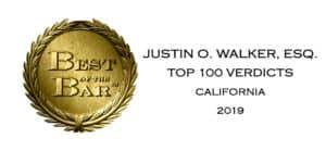 Top 100 verdicts in California in 2019